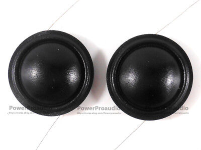 Portable Audio & Video 10pcs 19.4mm 20.4mm 25.5mm 28mm Tweeters Voice Coil 8ohm Black Silk Dome