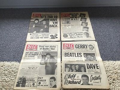 Disc Weekly 1964x4