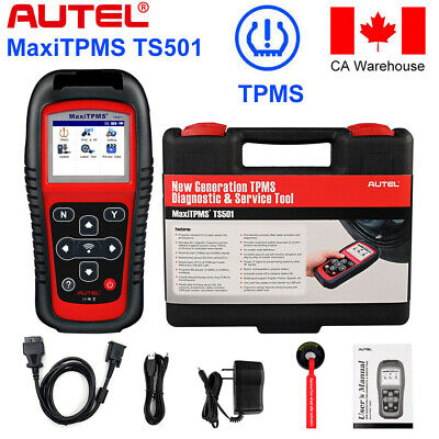 Autel TPMS TS501 Sensor Training Tool - Tire Pressure Programming Activation CA