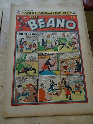 Beano Comic October 10th 1959 - with Beezer flyer