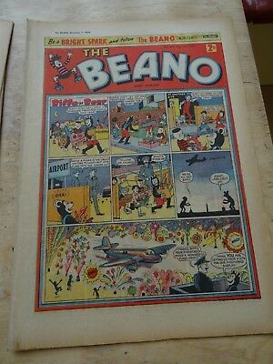 Beano Comic November 7th 1959 - Fireworks edition
