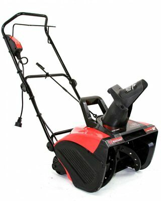 """Maztang 18"""" 13 Amp 180 Degree Chute 2100 RPM 120V Electric Snow Blower Thrower"""