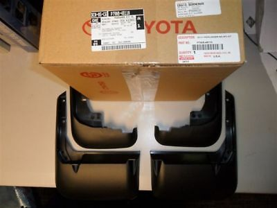 2011-2013 Toyota Highlander Mudguard Kit  PT908-48111 NEW OEM ACCESSORY