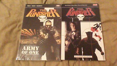 Marvel The Punisher Army of One & Business as Usual P/B Graphic Novels