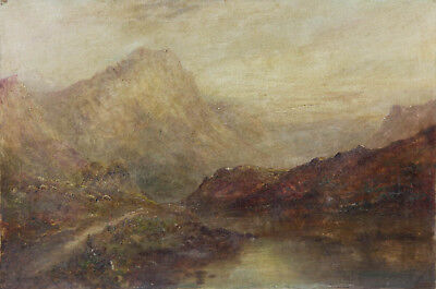 Early 20th Century Oil - Hilled Landscape