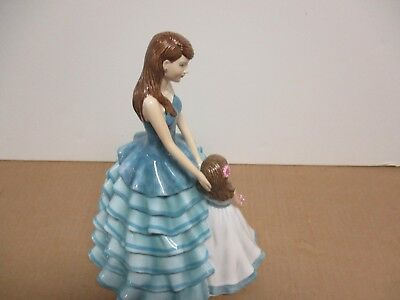 Royal Doulton Pretty Ladies CHERISHED MOMENT Mothers FOY 2016  NIB