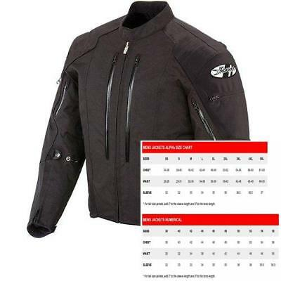 Joe Rocket 1051-5004 Atomic 4.0 Men's Riding Jacket (Black, Large)
