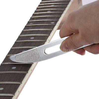 Guitar Fret Crowning File Leveling Tool Guitar Luthier Tools for Guitarist