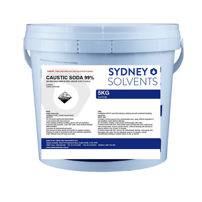 Caustic Soda Pearl Sodium Hydroxide Drain Pipe Cleaner 5kg