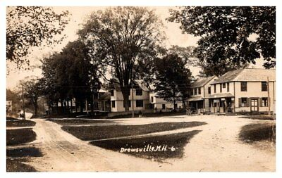 New Hampshire  Drewsville,  Village Center, Variety Store and Post Office  RPC