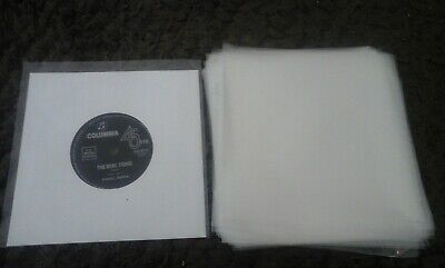 "500 New Plastic Outer Record Cover Sleeves For 7"" 45 Vinyl Aust. Made *Free Post"