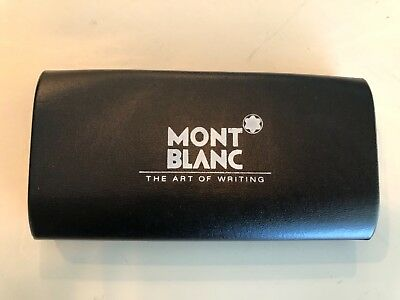 "Mont Blanc ""The Art of Writing"" Hard Case & Manual Pen case"