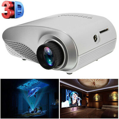 RD-802 Professional HD Home Cinema Theater Projectors LED Light Multimedia LOT