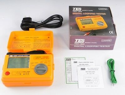 TES-1800A (230V) Digital LOOP/PSC Tester Meter Loop Impedance 20/200/2000 W