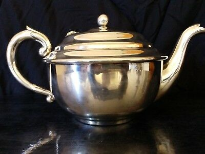 Vintage Silver Plated Hecworth Teapot Starting At $1 No Reserve! Superb!