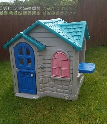 little tikes cosy cottage playhouse summer house garden outdoor rh picclick co uk little tikes cozy cottage playhouse instructions little tikes cozy cottage playhouse asda