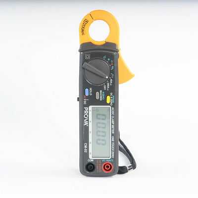 PROVA CM-02 DC/AC Digital Clamp Meter/Automotive Clamp 0.01A Resolution