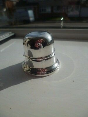 "VINTAGE SILVER PLATED DRESSING TABLE RING HOLDER  by "" R & B ""  CLASSY LOOK"