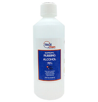 Rubbing Alcohol IPA 70% First Aid Antiseptic 1 Litre Bottle - PURE CHEM
