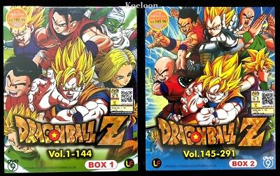 DVD Anime DRAGON BALL Z Complete Series (1-291 End) English Subtitle Region 0