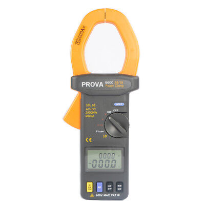H● PROVA-6600  Clamp Power Meter Three-phase Clamp Power Meter