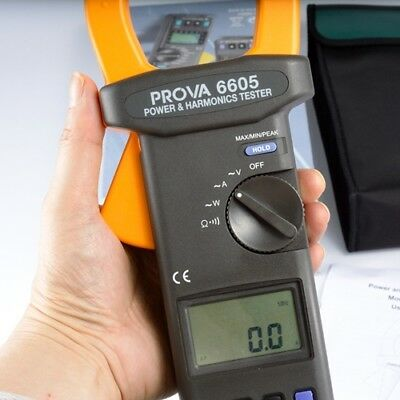 H● PROVA-6605 AC Power and Harmonics Analyzer Clamp Meter
