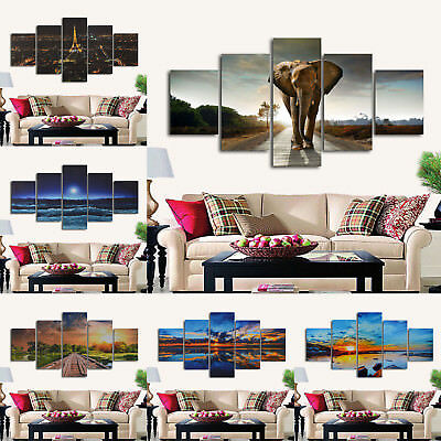 Unframed Modern Abstract Art Canvas Oil Painting Home Picture Print Wall Decor