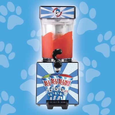 SLUSH PUPPiE MAKER machine making your own frozen ice cold SLUSHiE