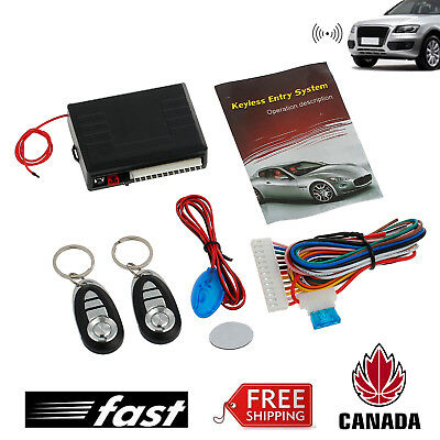 Universal Car Remote Central Vehicle Door Locking Keyless 315MHz Entry System