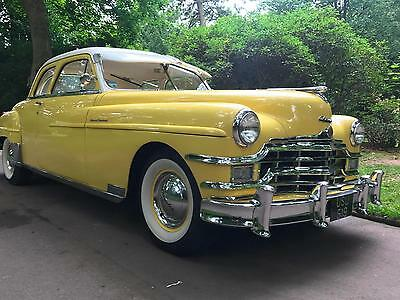 1949 Chrysler New Yorker Club Coupe 4900cc Fully Restored