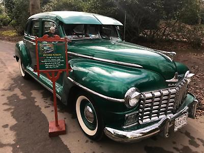 Dodge Plymouth 1947 very rare free road tax