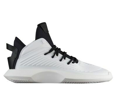 info for 8159f 36b2c Adidas Crazy 1 ADV Mens AQ0320 White Black Leather Basketball Shoes Size 8