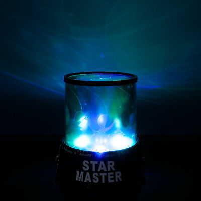 Star Master Bedroom Night Starry Projector Lamp Planets Galaxy LED Light Gift