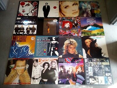 BEST OF 80er JAHRE ! Pop & Synth Musik *1A DJ Vinyl Sammlung + MAXIVERSIONEN !*