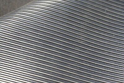 Fine Ribbed Rubber Garage Shed Workshop Rubber Flooring Matting 1.2m x 3mm