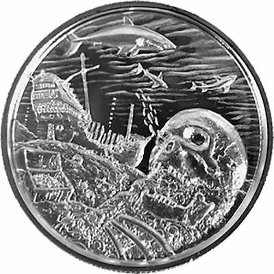 Davy Jones Locker 2 oz Silver Round - Privateer Series (P7)