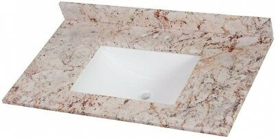 Home Decorators Collection Bathroom Vanity Top Stone Effects Rustic Gold 37 In