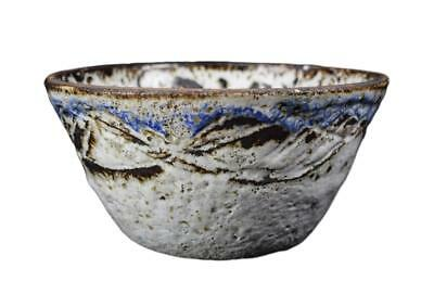 French Mid-Century Modern Albert Thiry Pottery Large Bowl