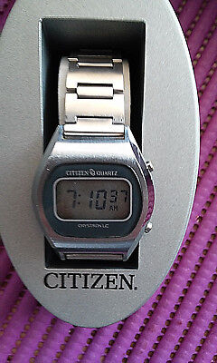 Citizen Cryston LC D 40-0033,Vintage Herrenarmbanduhr