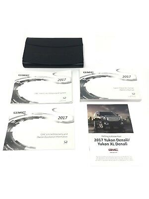 2014 gmc yukon denali owners manual