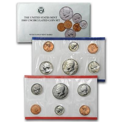 1989 US Mint Set, Original Government Packaging, Free Shipping