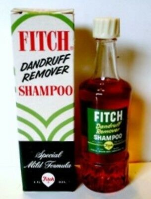 Fitch Dandruff Shampoo Bottle & Box Full 4 oz.