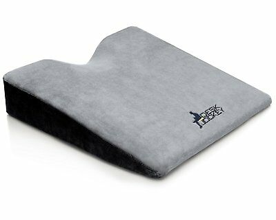 Seat Cushion Wedge For Car Therapeutic Grade Firm Driving Seat Increase Height