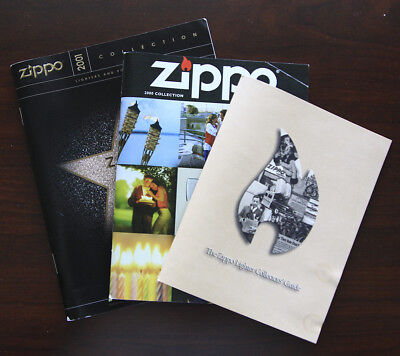 Zippo 2000/2001 Catalogs and 1999 Collector's Guide