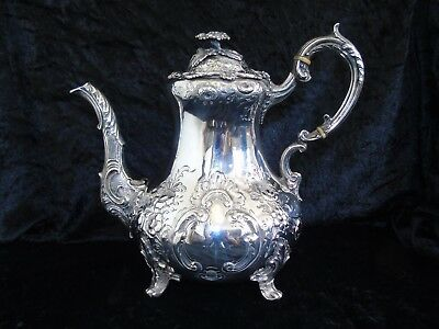 Sterling Silver Victorian Coffee Pot