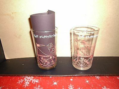 Welch's HB Glass 1964 The Flintstone's Pebbles At The Beach- Wilma Bottom 36b