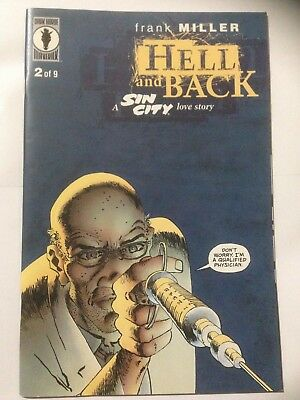 Frank Millers SIN CITY Comic 1999 Hell And Back Issue 2 **Free UK Postage**