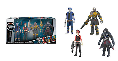 Funko Action Figure Set - Ready Player One 4-Pack Parzival,Art3Mis, Aech & I-R0K