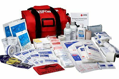 First Aid Only 520-FR First Responder Kit, Large 158 Piece Bag