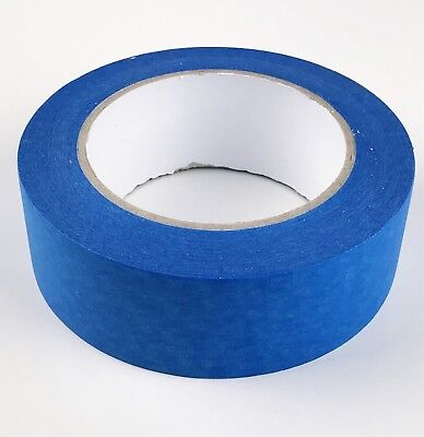 Blue Masking Tape UV Resistant long durability painters tape 38-48mm x 50M Paxx